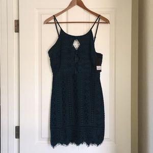 {Storia} Lace mini dress